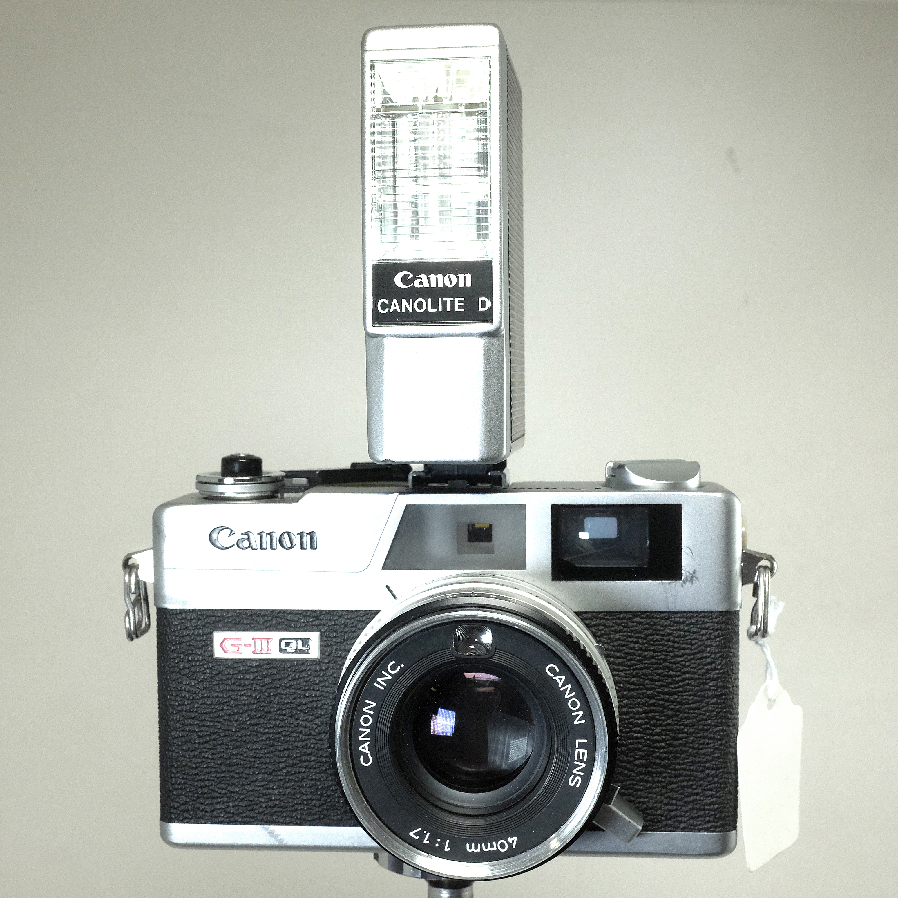 Canon Canonet QL17 G-III with Canolite D Flash - Central ...